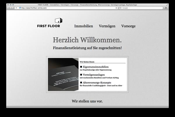 First Floor Online