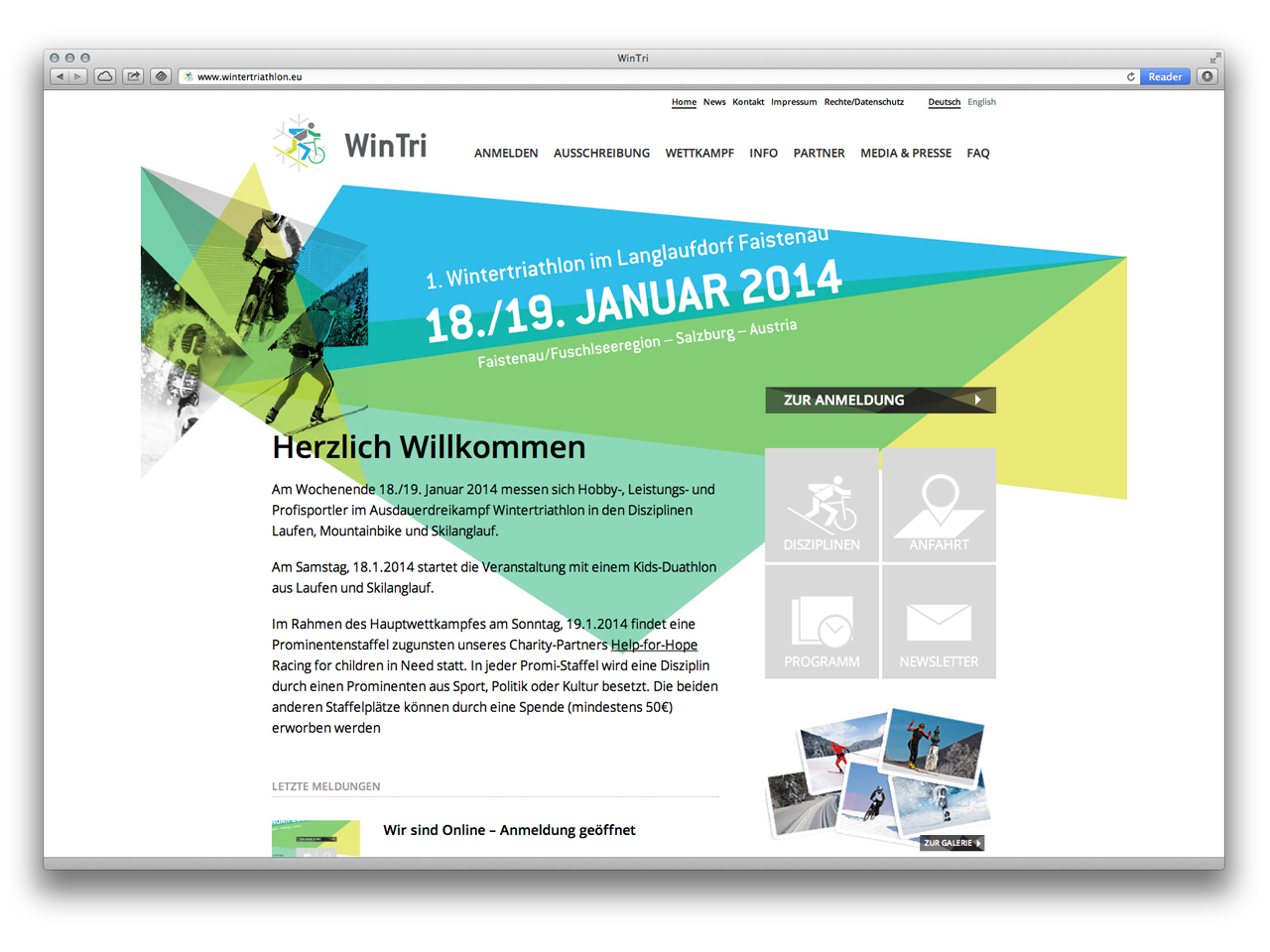 WinTri - Website online