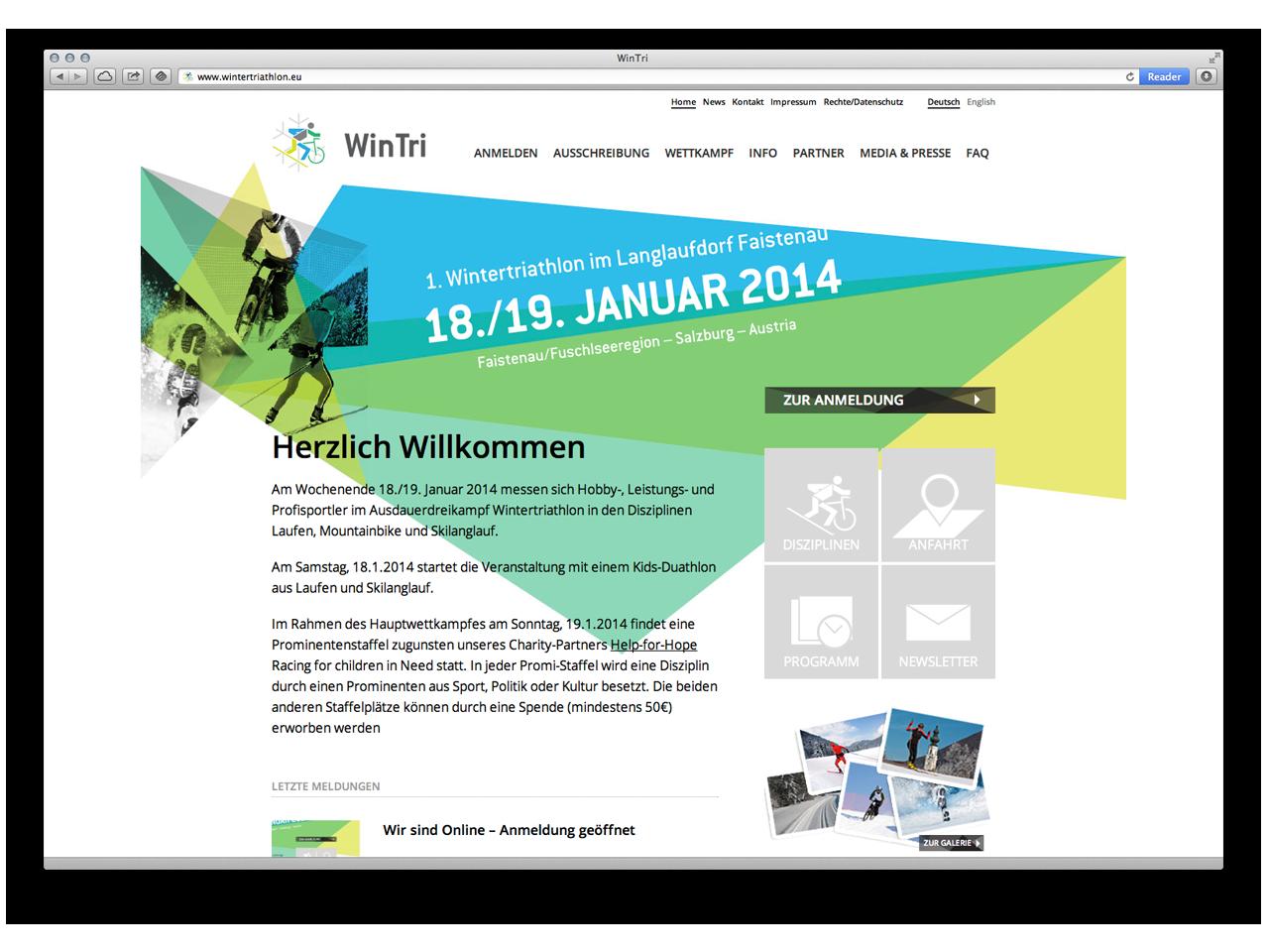 WinTri - Website online