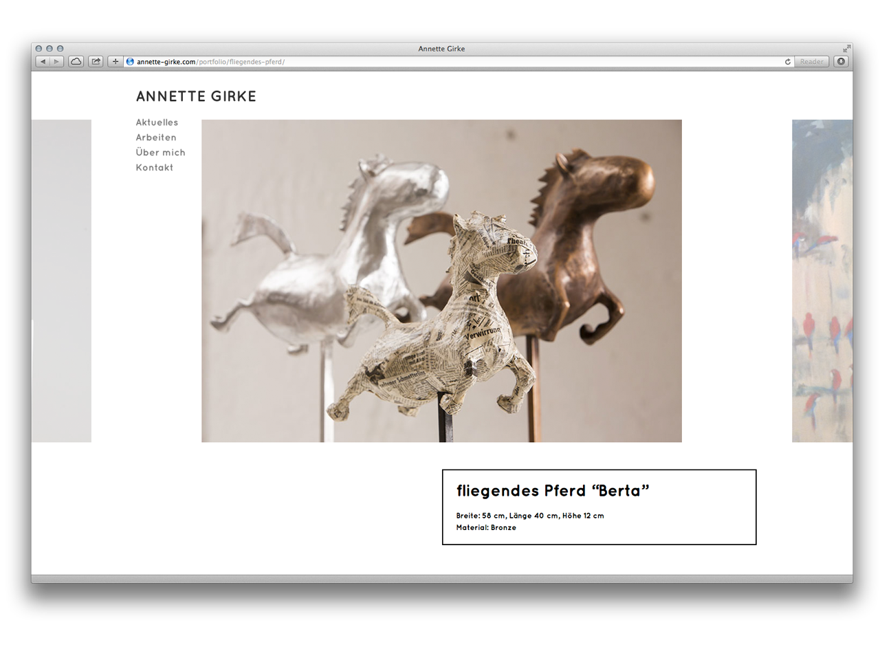 Website – Annette Girke