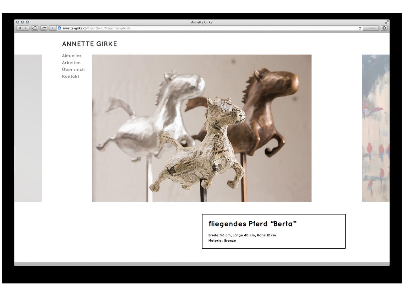 Website – Annette Girke