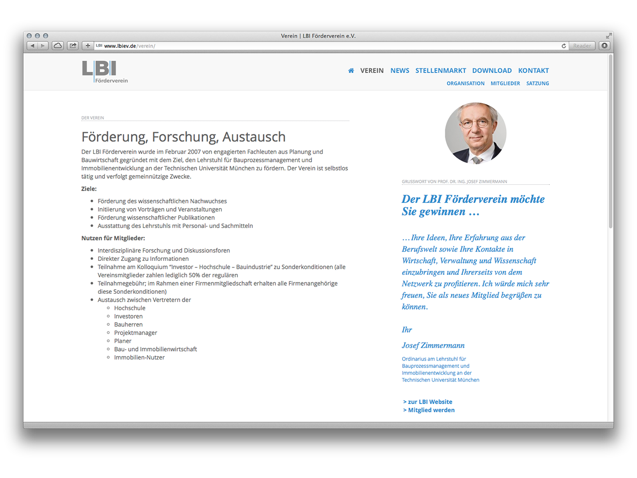 LBI e.V. – neue Website