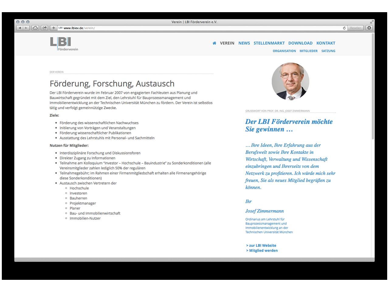 LBI e.V. – neue Website
