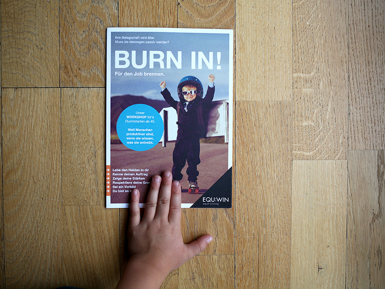 EQU:WIN – BURN IN!