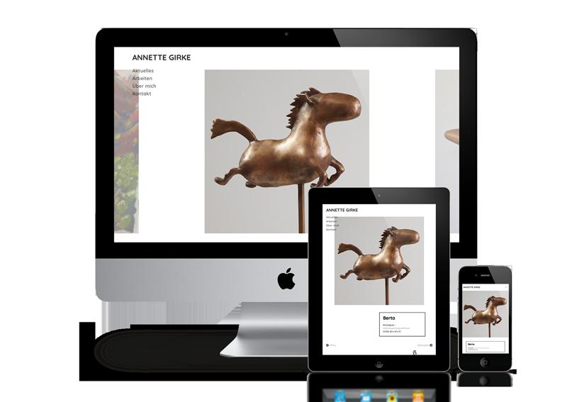 Webdesing Kultur und Kunst