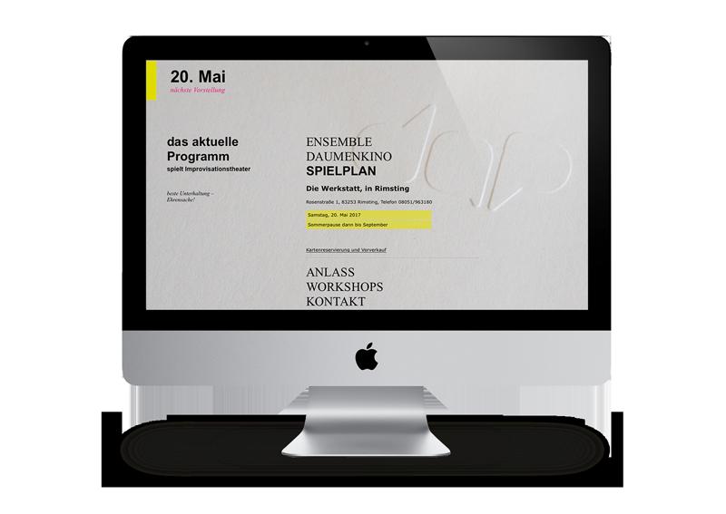 Webdesign Kunst und Kultur