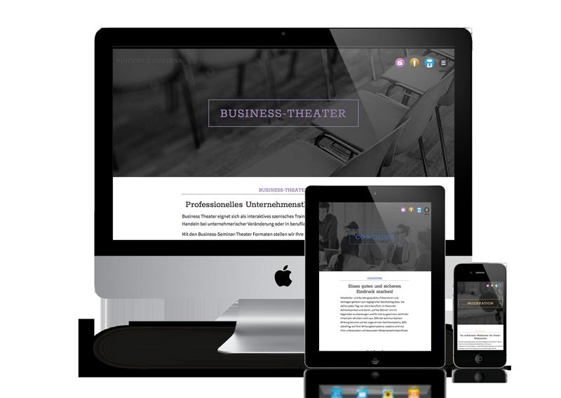Webdesign Coaching-Website